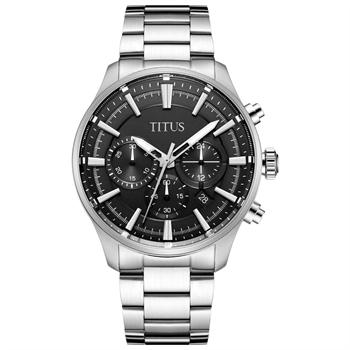 Modernist计时石英不锈钢腕表(W06-03082-001)