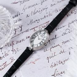 「天长地久」两针石英皮革腕表(W06-03207-001)